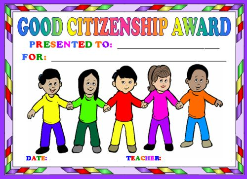 good citizenship clipart - photo #47